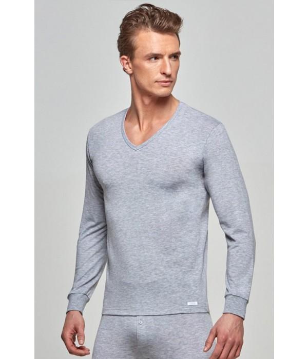 camiseta-termica-cuello-pico-hombre-manga-larga-impetus-1367606-gris