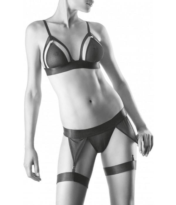 Trikini sexy conjunto transparencias Aubade lingerie