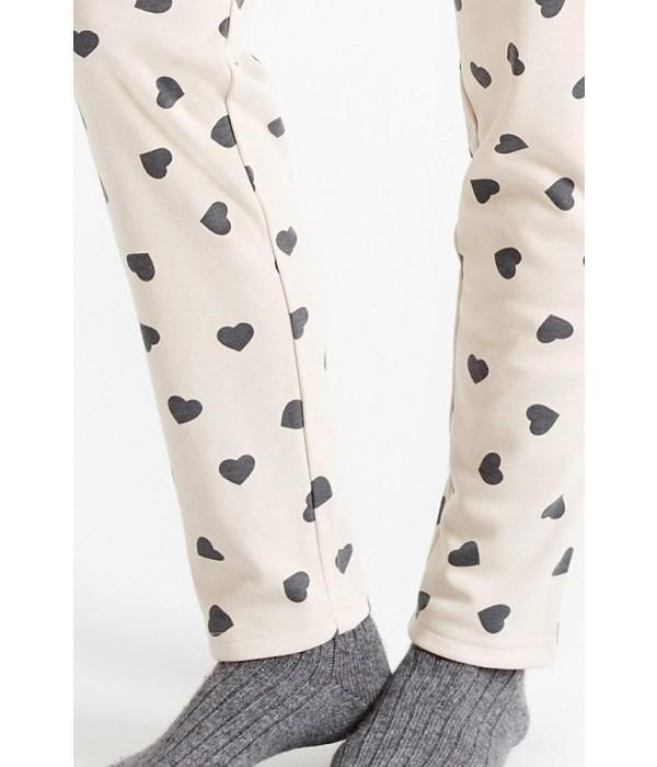 "Pijama invierno mujer ""corazones"" de Promise"