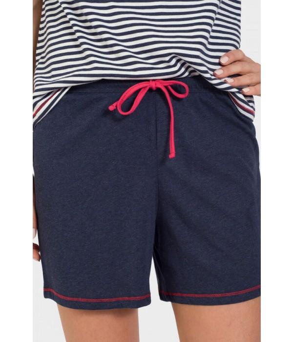 Pijama Massana pantalon cordón rojo