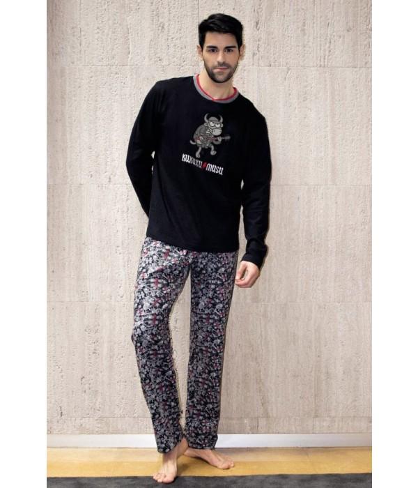 Pijama Invierno Kukuxumusu Pijamas Hombre Lenceria Emi