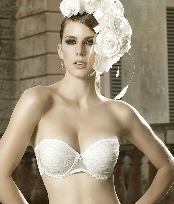 Sujetador push up para novia coleccion Tresor