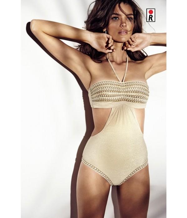 Trikini Redpoint Glam Dorado nude swimwear 2018